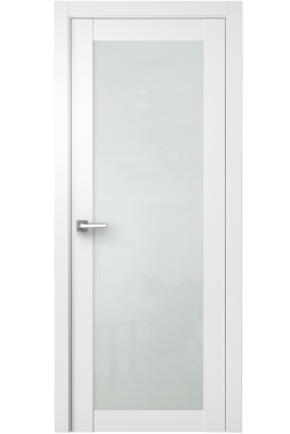 Image Nedovento Interior Door Polar White/ White Triplex Glass 1