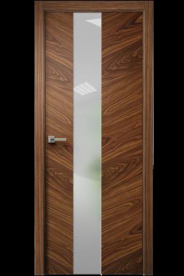 Image Tera V Vetro Interior Door American Walnut 1