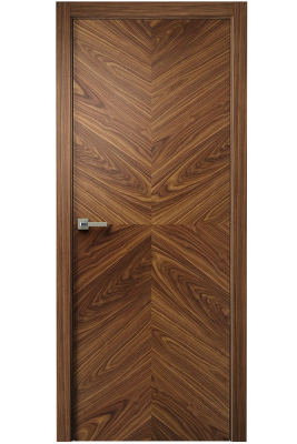 Image Tera X Interior Door American Walnut 1