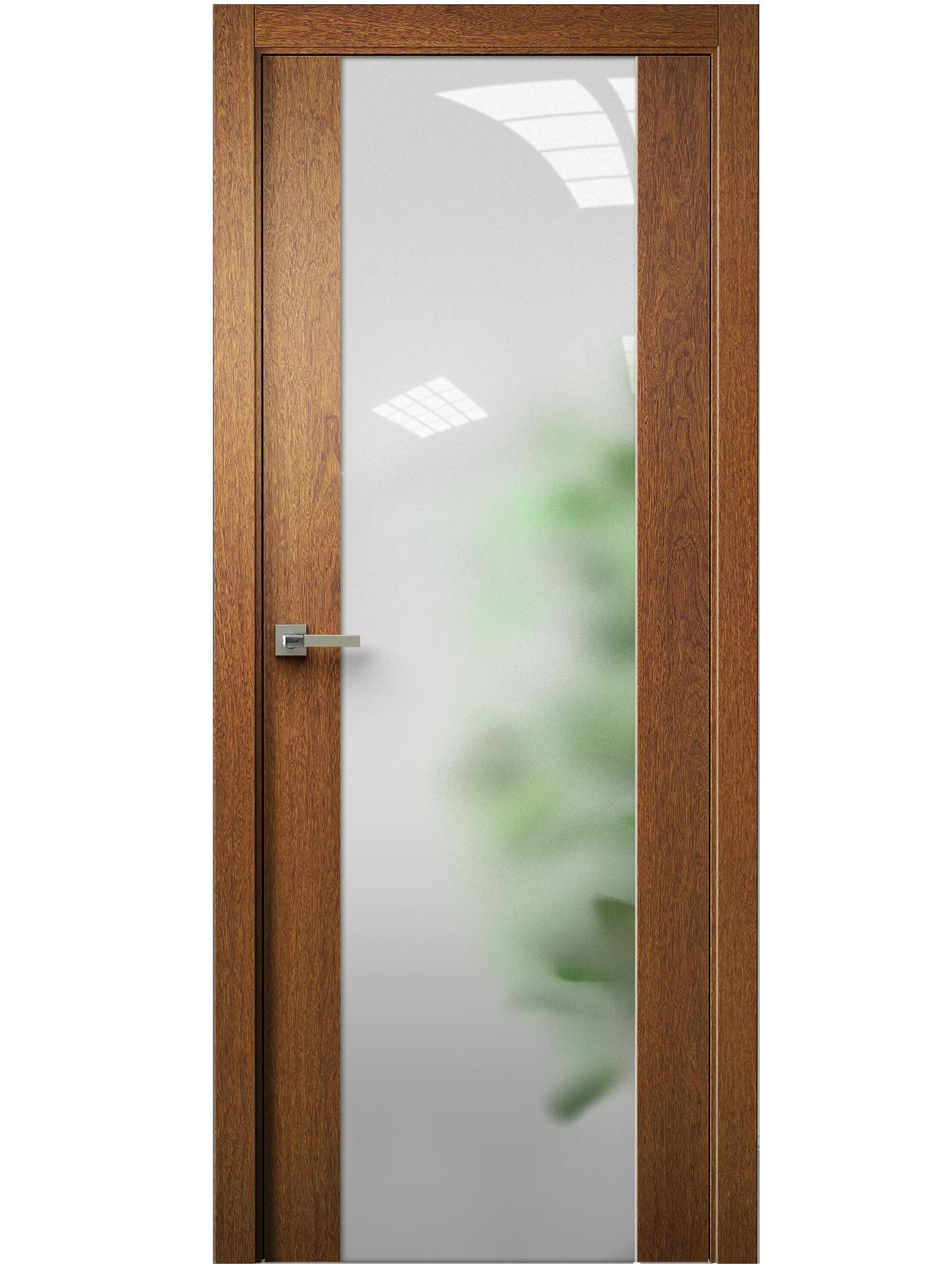 Image Vetra Interior Door Sucupira / Frosted Glass 0