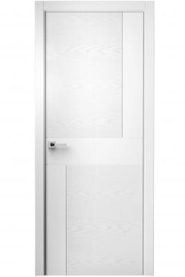 Image Komo Interior Door Italian Enamel White / White Ash 1