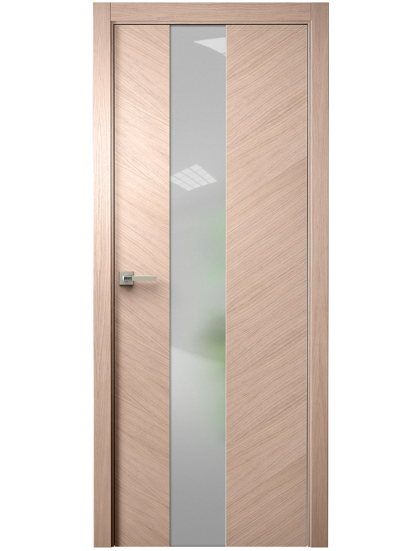 Image Tera V Vetro Interior Door Brushed Oak Tone 12 0