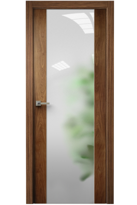 Image Vetra Interior Door American Walnut / Frosted Glass 1