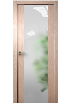 Image Vetra Interior Door Brushed Oak Tone 12 / Frosted Glass 1