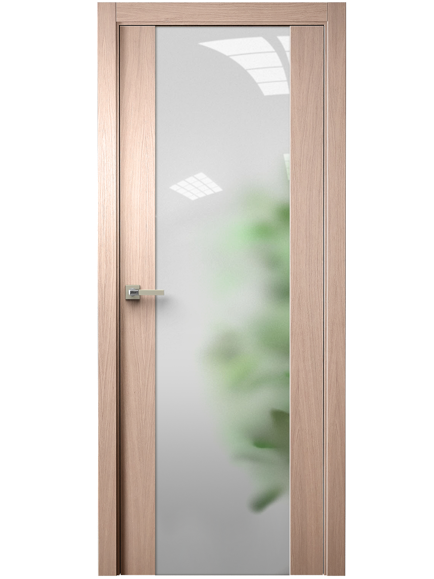 Image Vetra Interior Door Brushed Oak Tone 12 / Frosted Glass 0