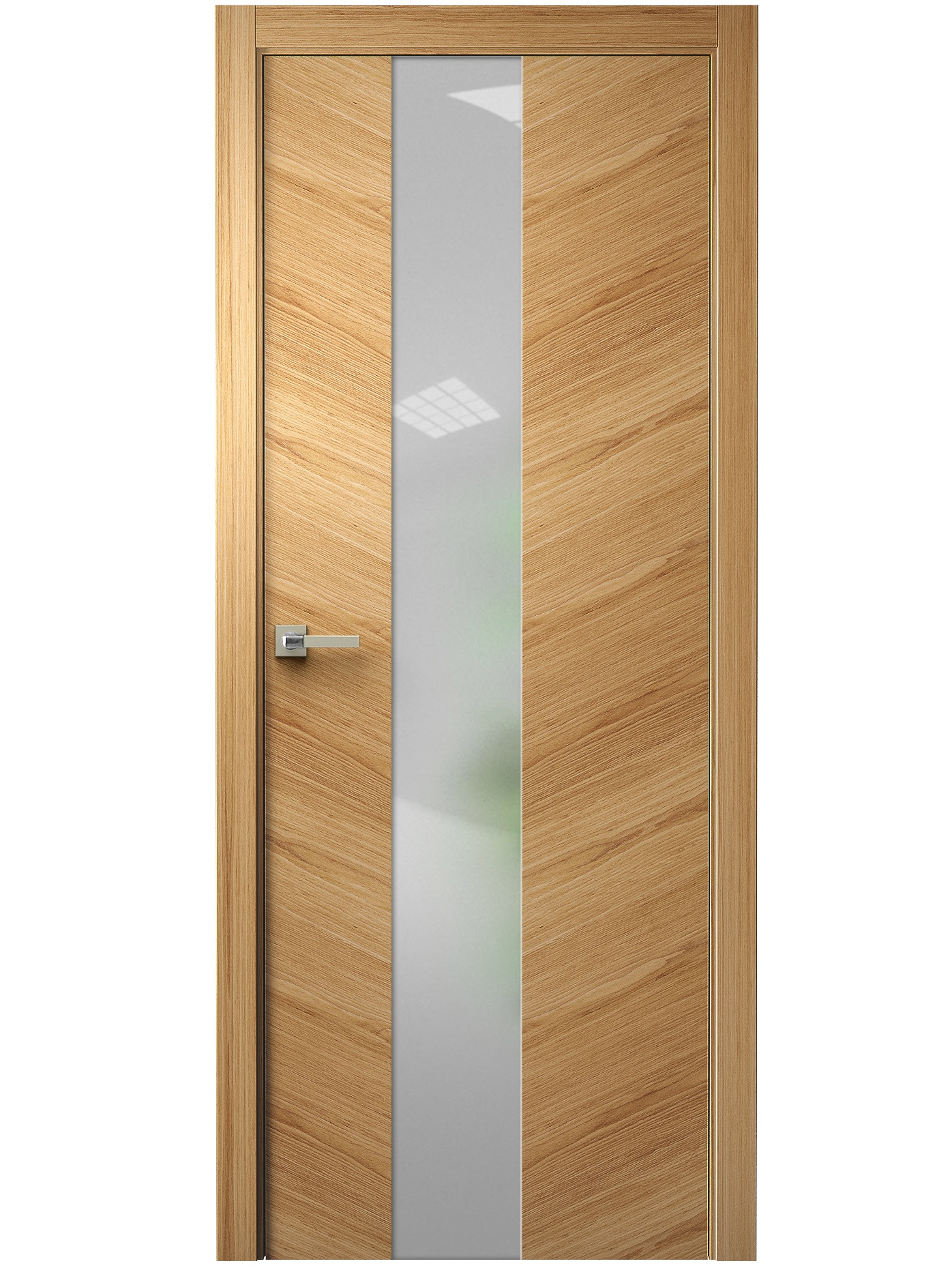 Image Tera V Vetro Interior Door Natural Oak 0