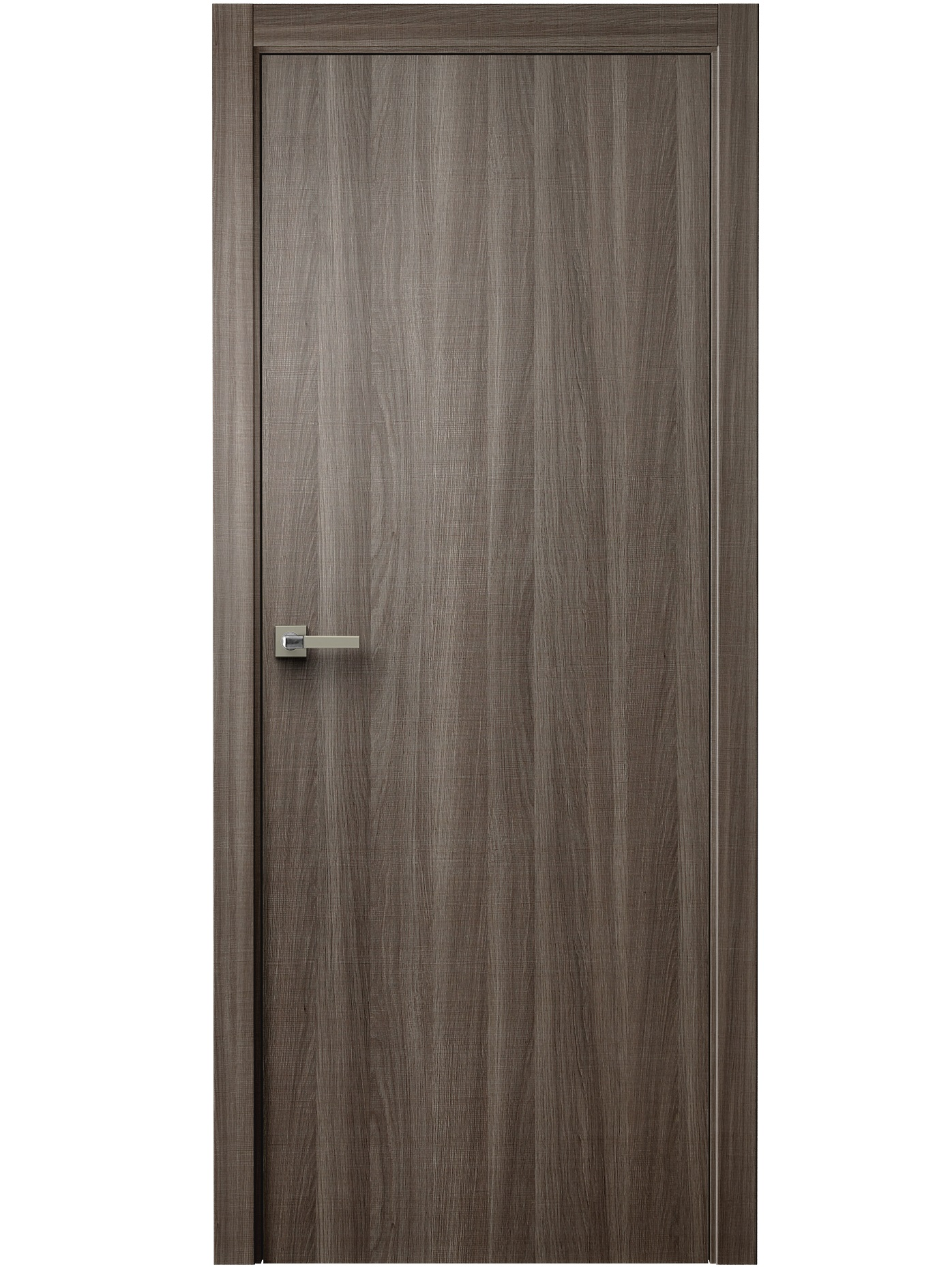 Image Unica Interior Door Walnut Cut 0