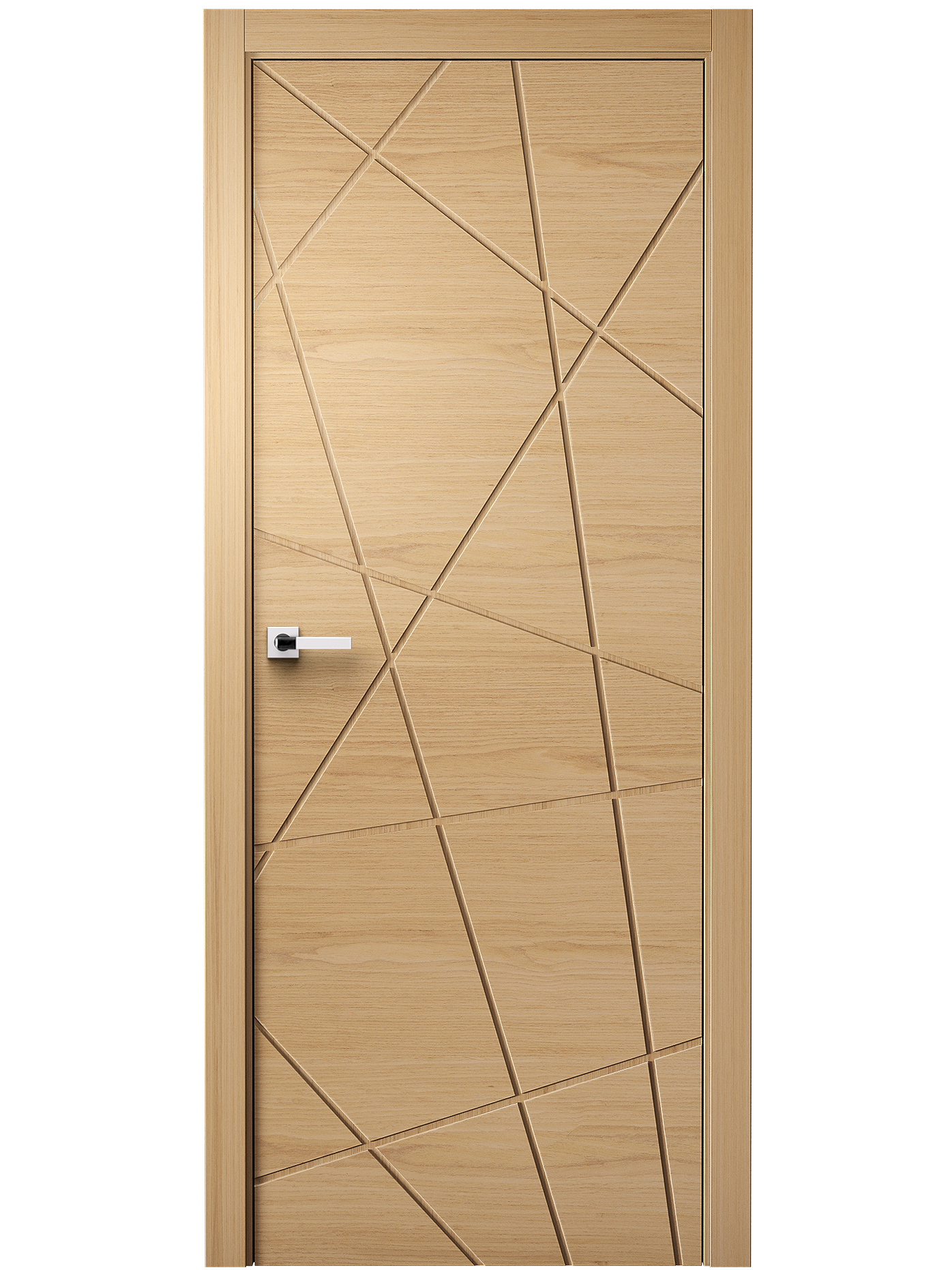 Image Juno Interior Door White Ash 1