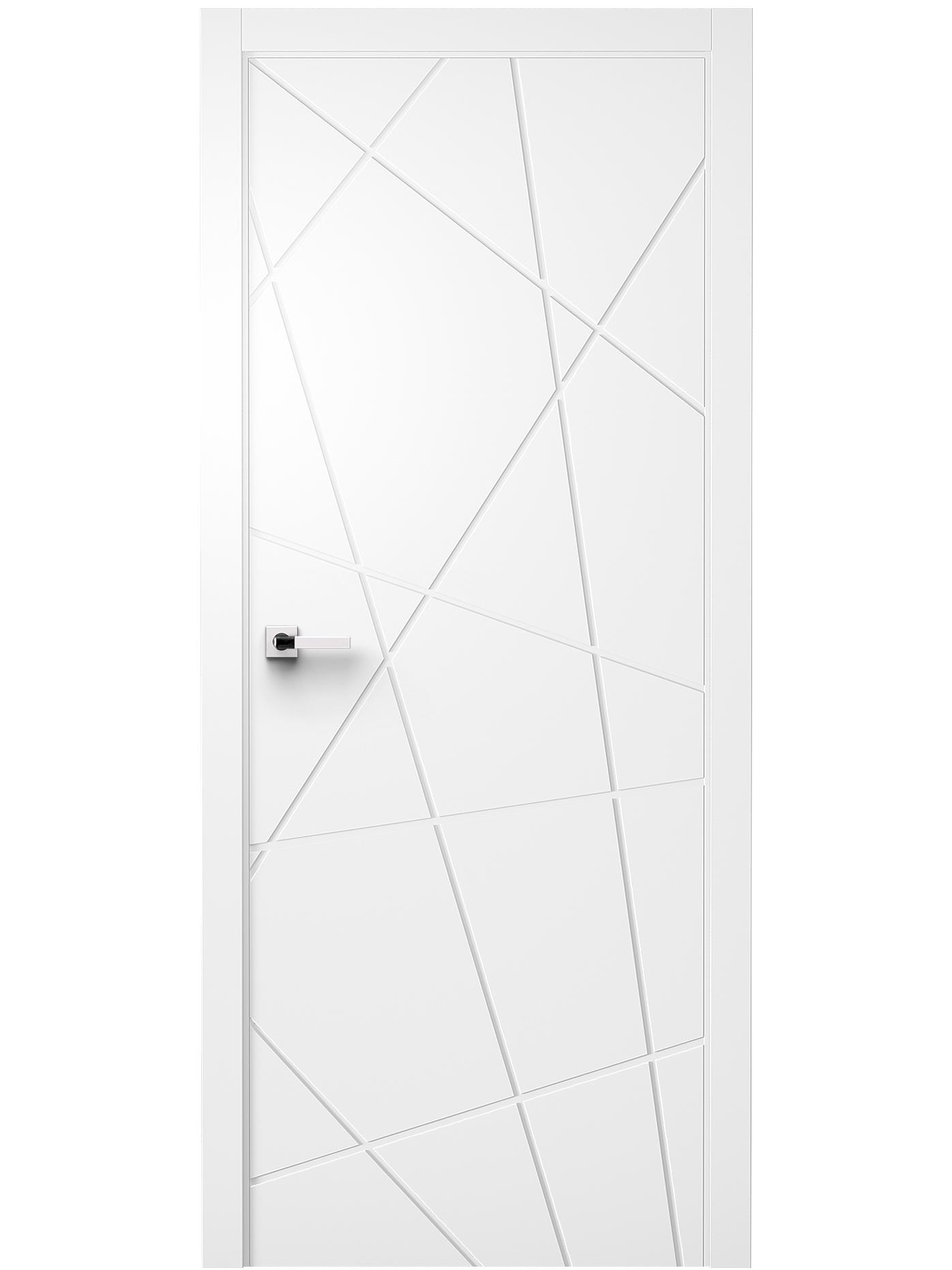 Image Juno Interior Door White Ash 3