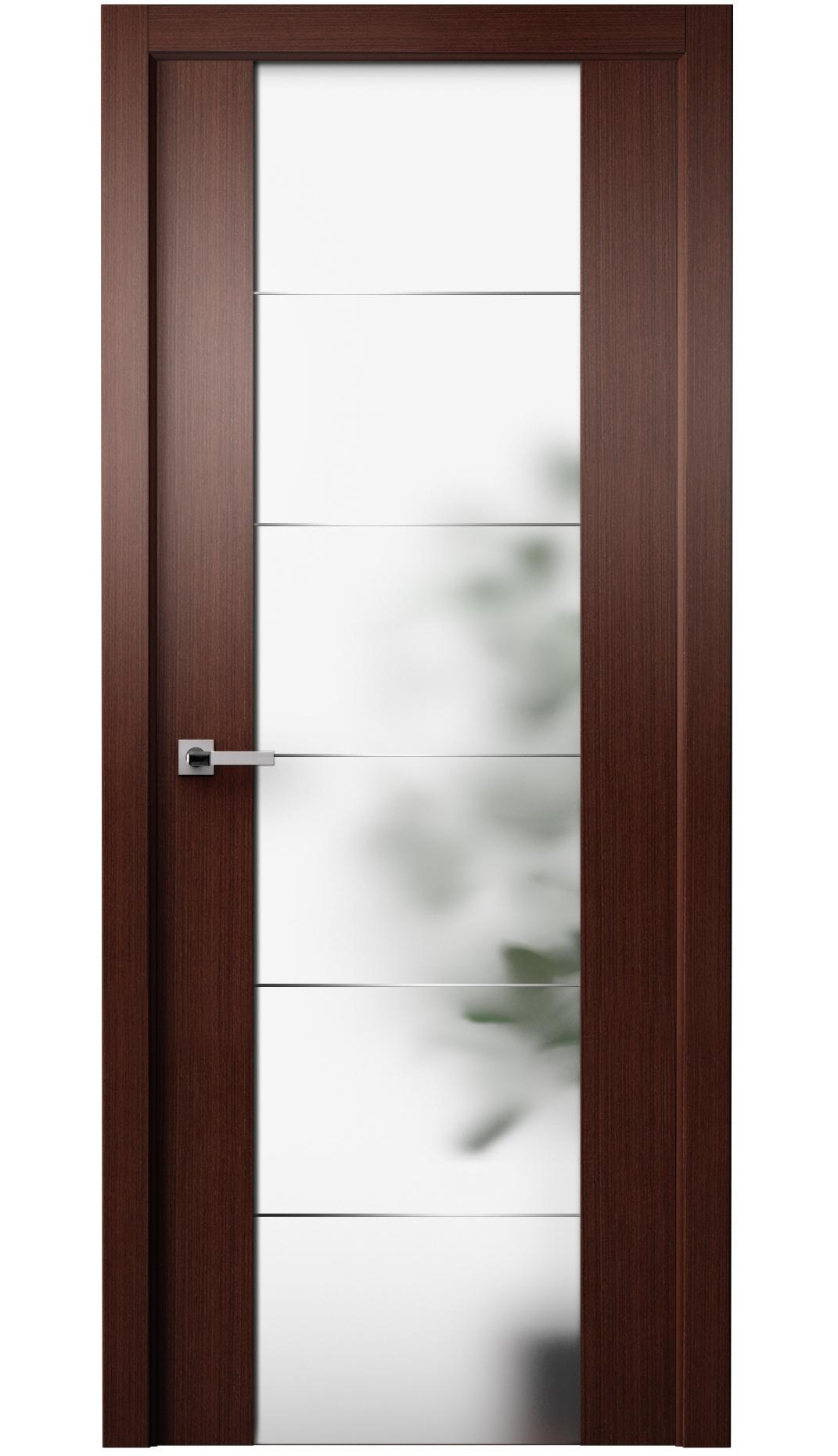Image Gardi Vetro Interior Door Wenge 0