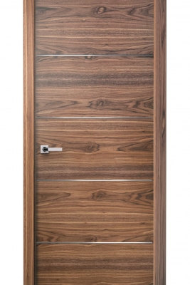 Image Versa Interior Door American Walnut 1