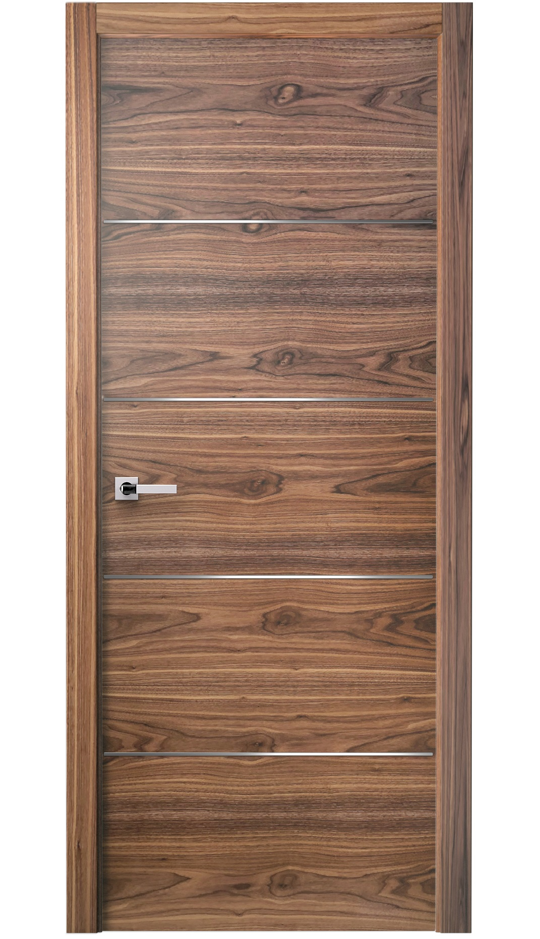Image Versa Interior Door American Walnut 0