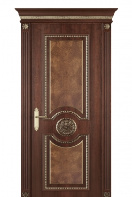 Image Alessandria Interior Door Stained Oak 1