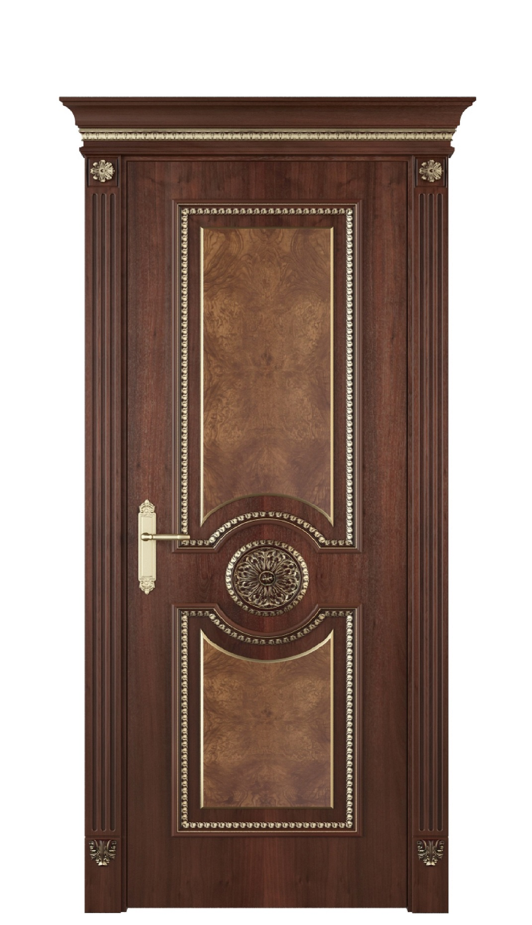 Image Alessandria Interior Door Stained Oak 0