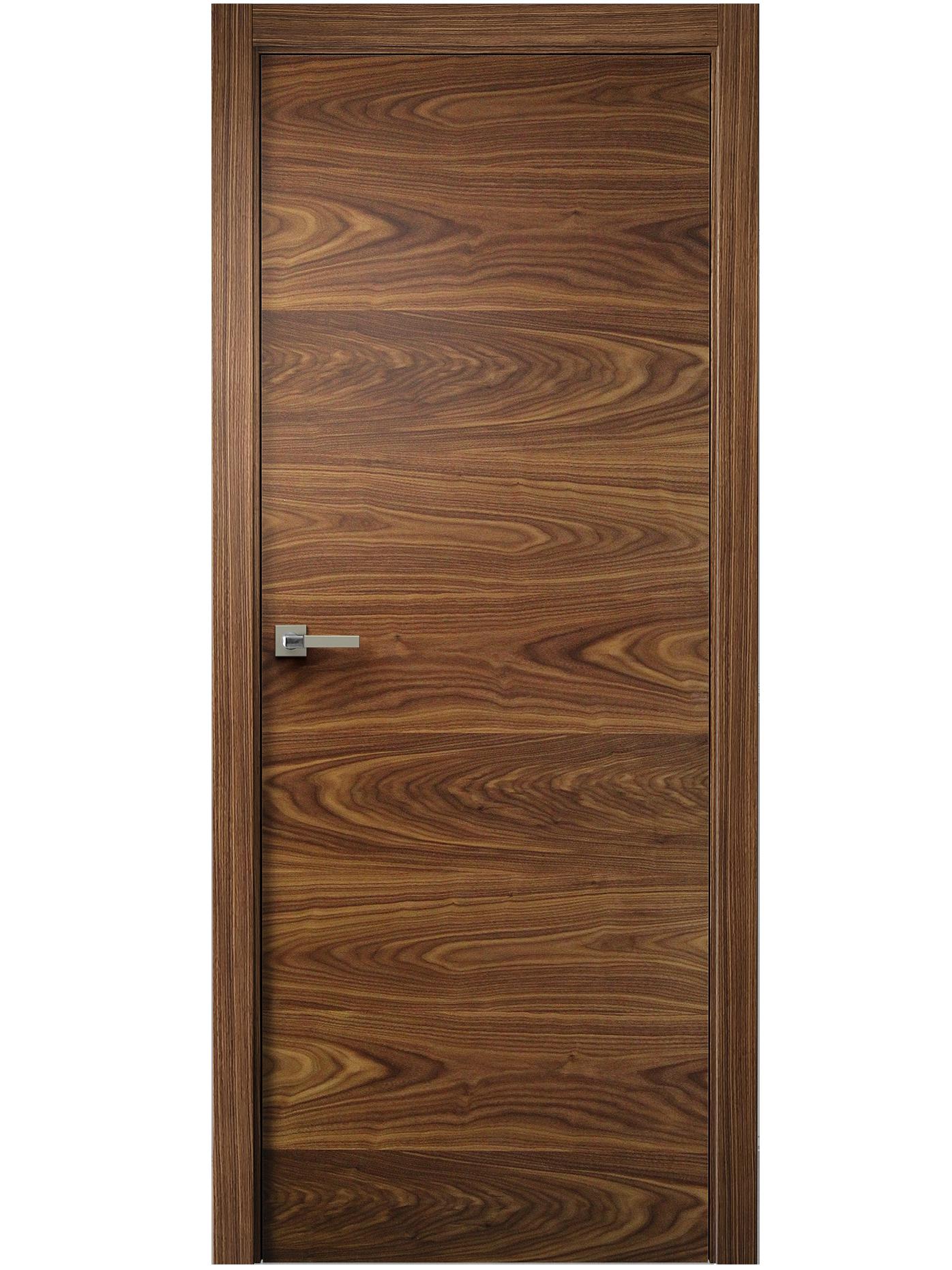 Image Sana Interior Door American Walnut 0