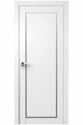 Image Trinity Interior Door Polar White 1