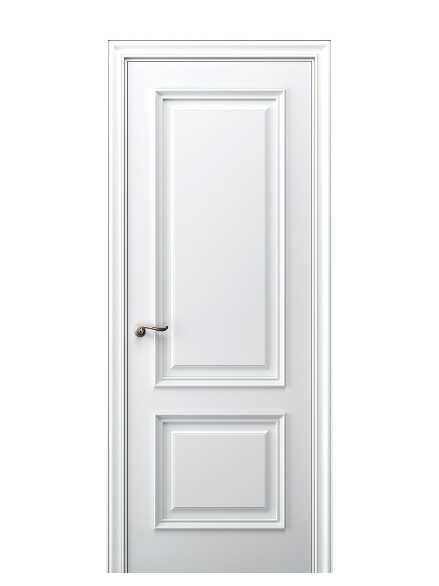 Image Nola Interior Door Italian Enamel White 0