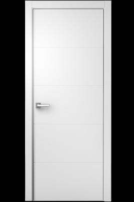 Image Simpla Interior Door White Italian Enamel 1