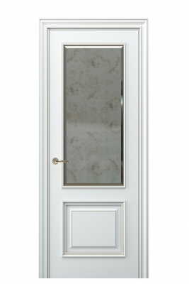 Image Nora Interior Door Italian Enamel White 1