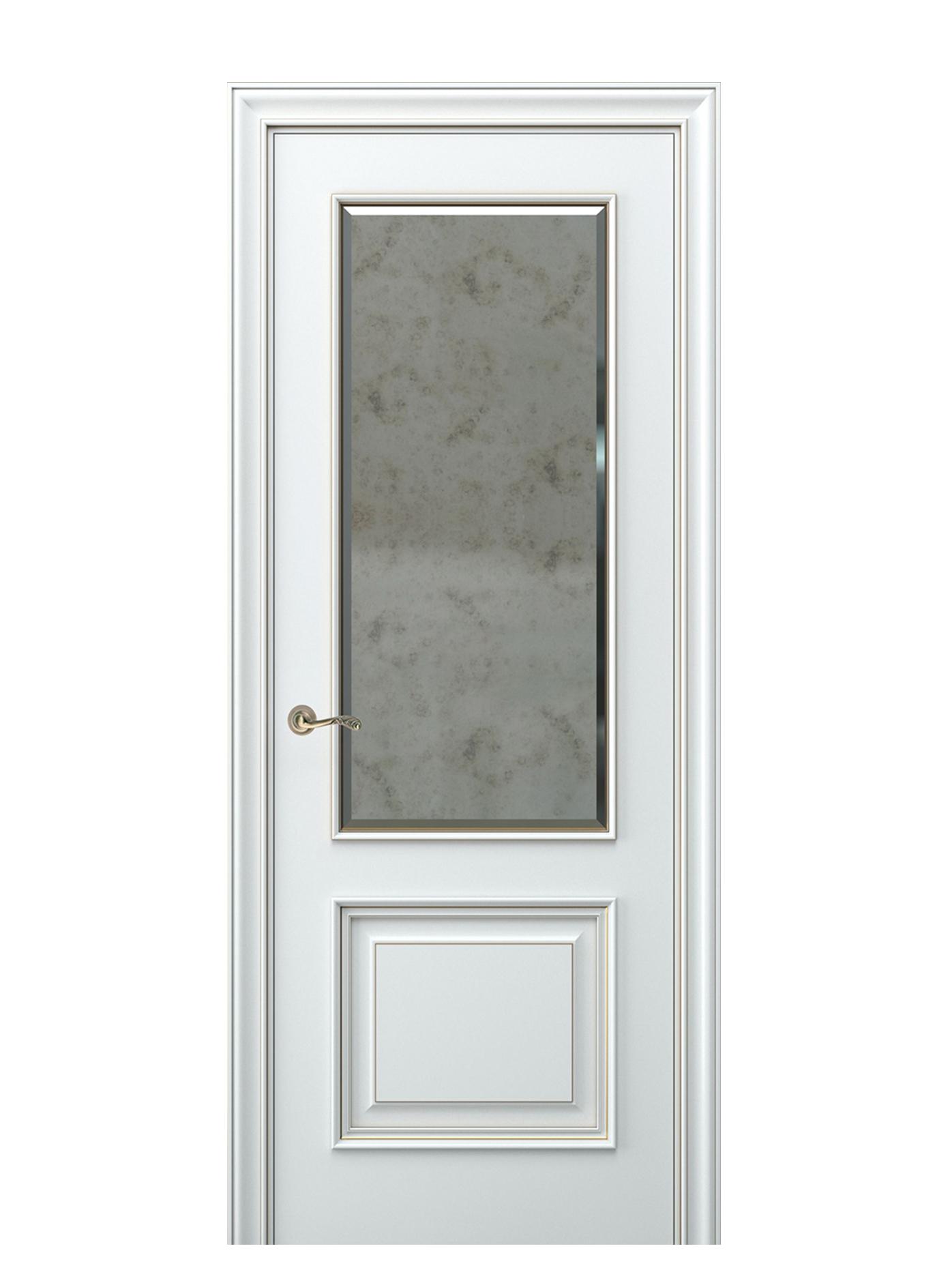 Image Nora Interior Door Italian Enamel White 0