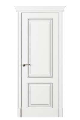 Image Madia Interior Door Italian Enamel White 1