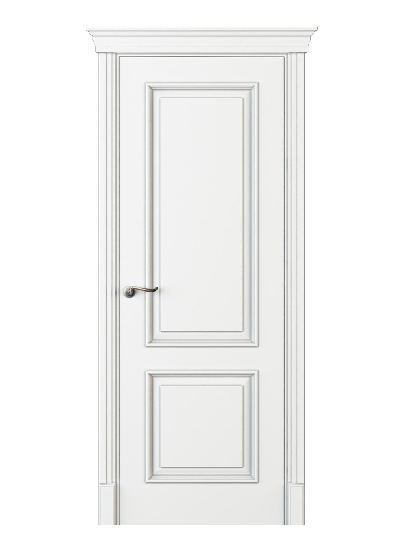 Image Madia Interior Door Italian Enamel White 0