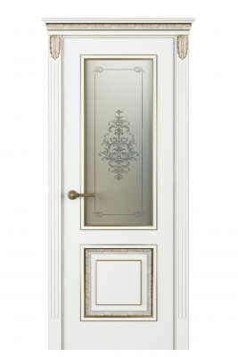 Image Molinella Vetro Interior Door Italian Enamel White 1