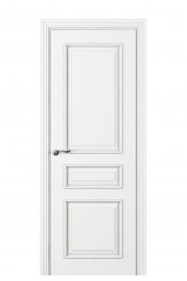 Image Fellini Interior Door Italian Enamel White 1