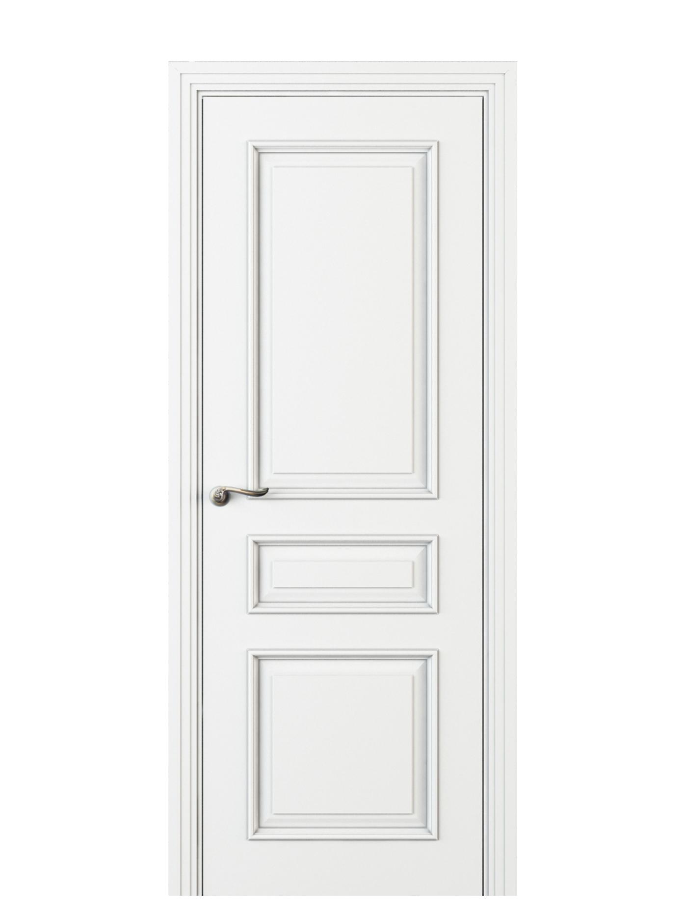 Image Fellini Interior Door Italian Enamel White 0