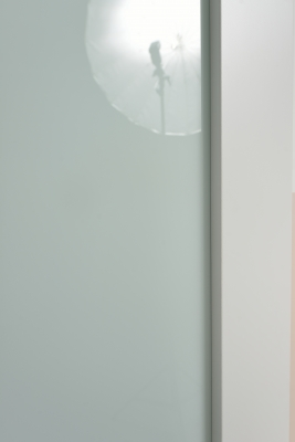 Image Vento Interior Door Polar White/ Triplex Glass 8
