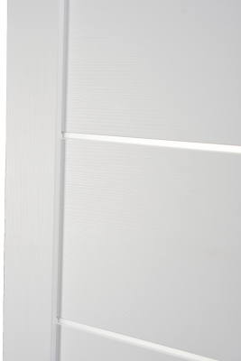 Image Tia Interior Door Bianco Noble/Frosted Glass 2