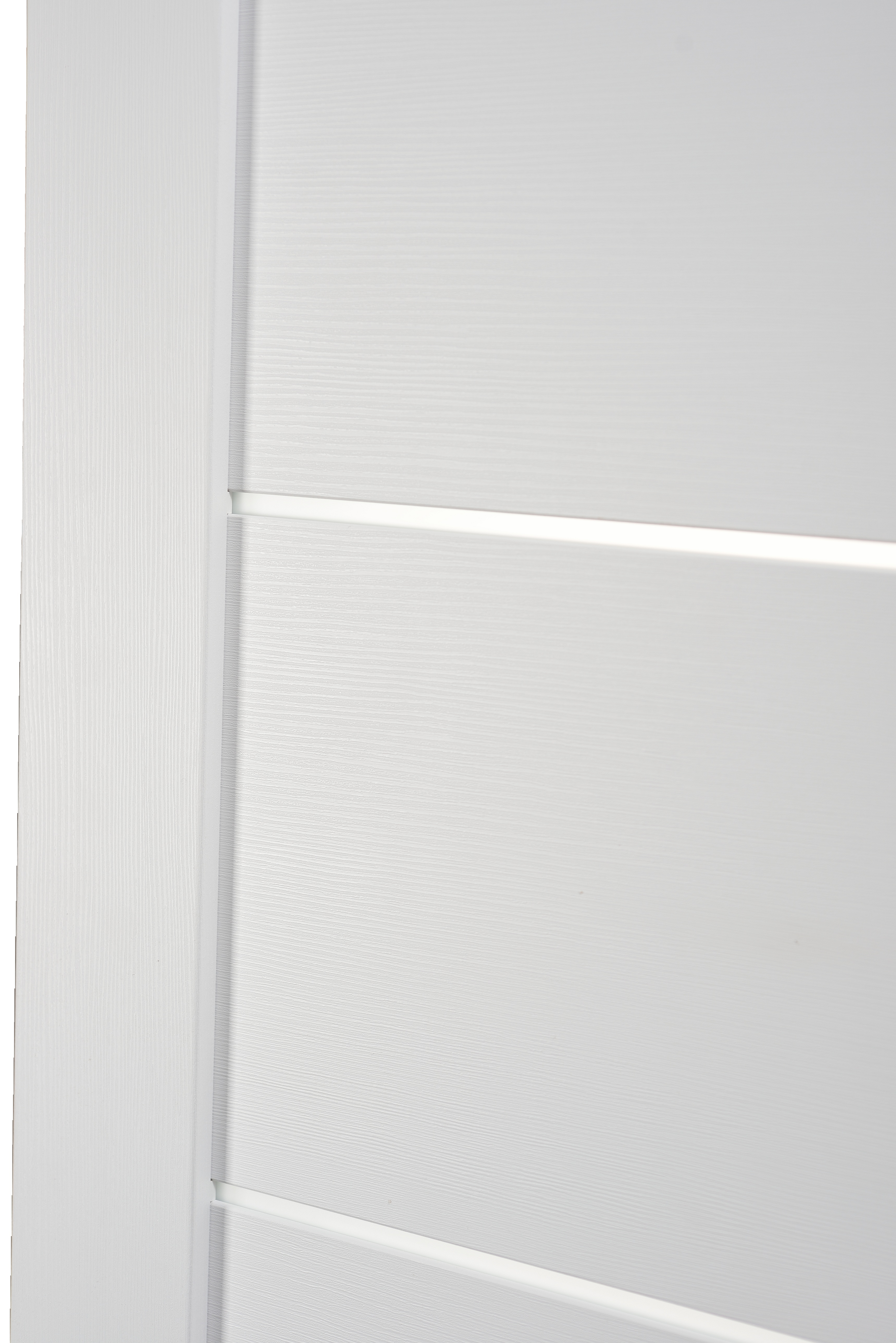 Image Tia Interior Door Bianco Noble/Frosted Glass 1