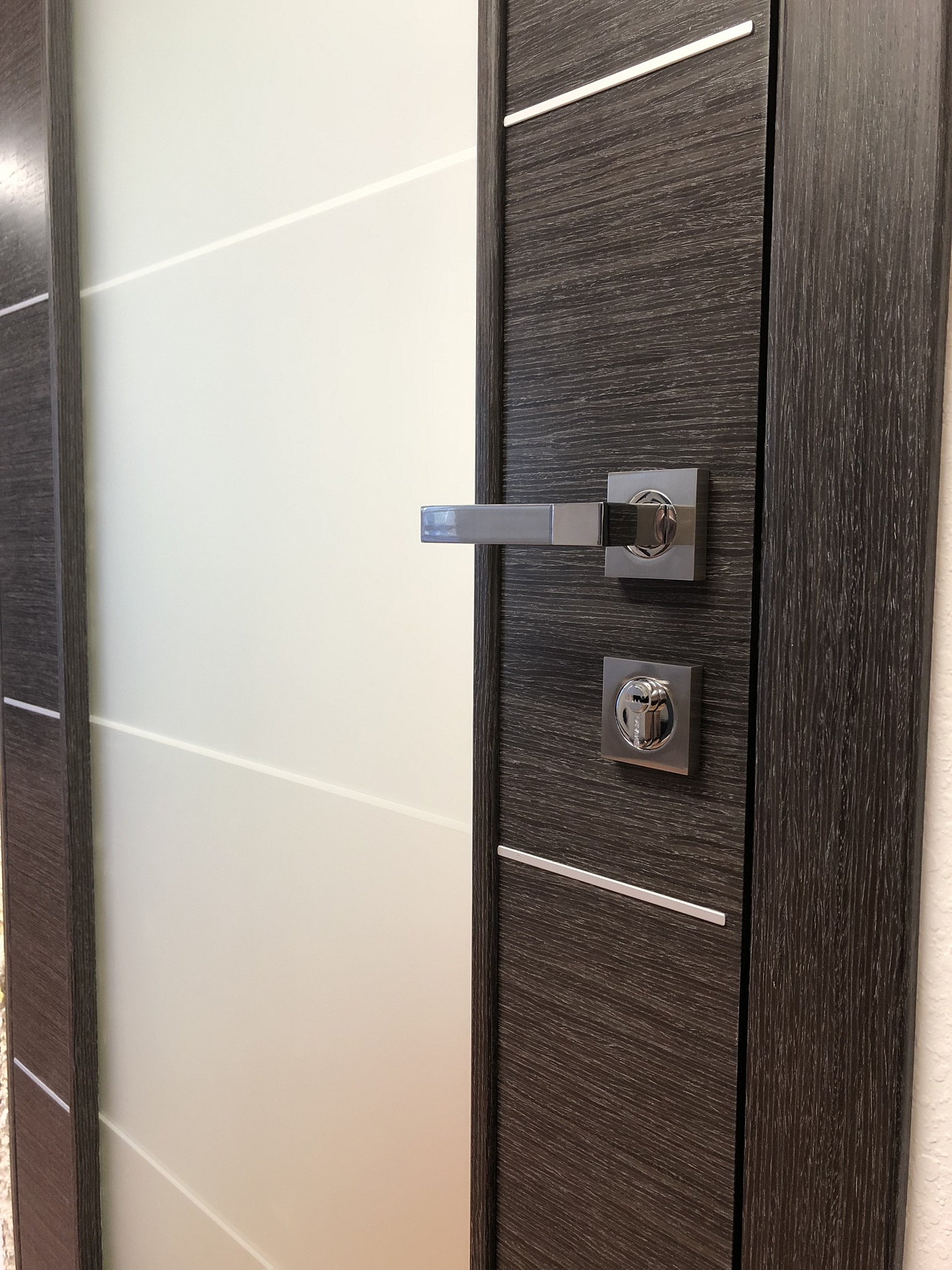 Image Versa Vetro Interior Door Black Apricot 1