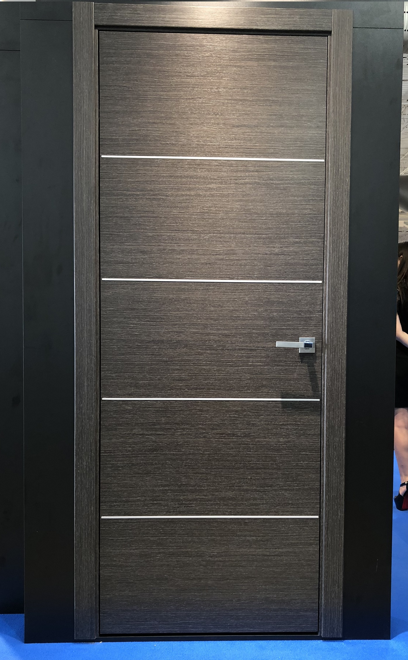 Image Versa Interior Door Black Apricot 3