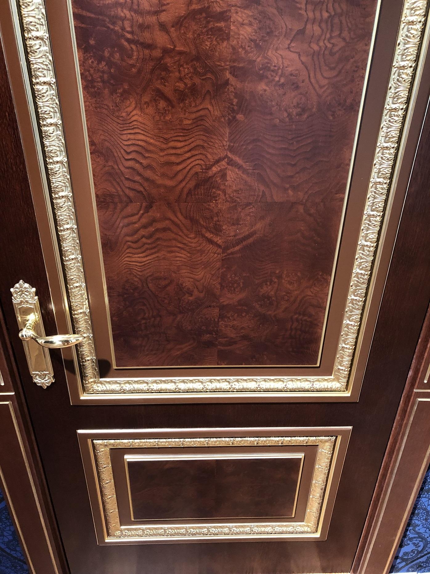 Image Verona Interior Door Stained Oak 4