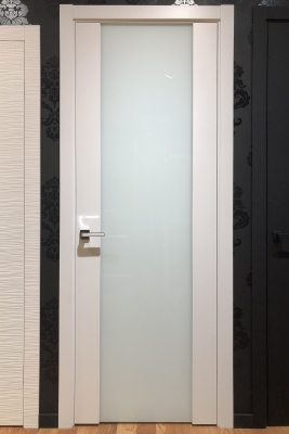 Image Vento Interior Door Polar White/ Triplex Glass 2