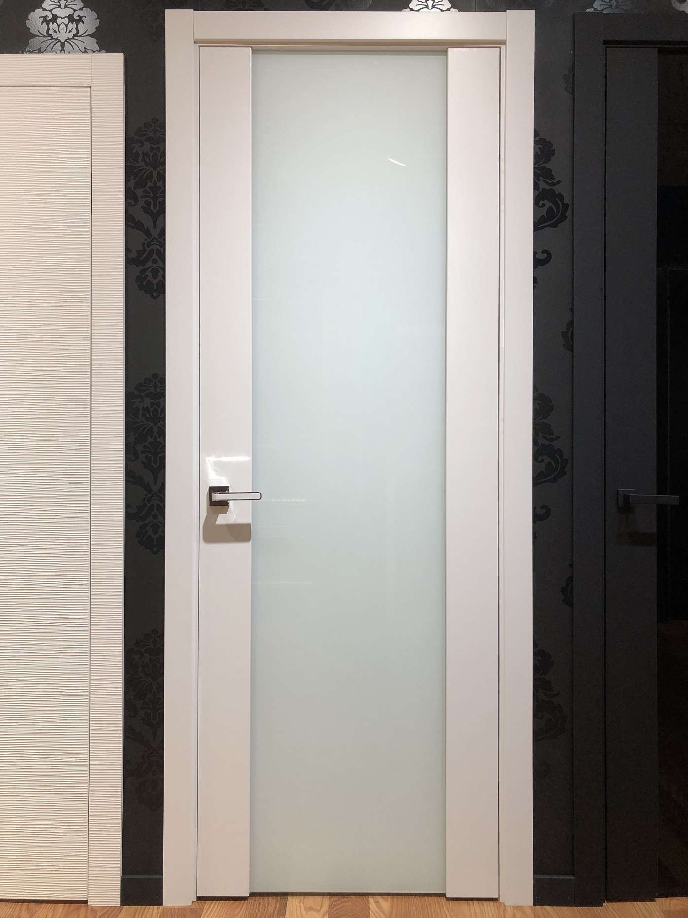 Image Vento Interior Door Polar White/ Triplex Glass 1