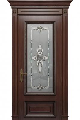 Image Imperia Vetro Interior Door Stained Oak 1