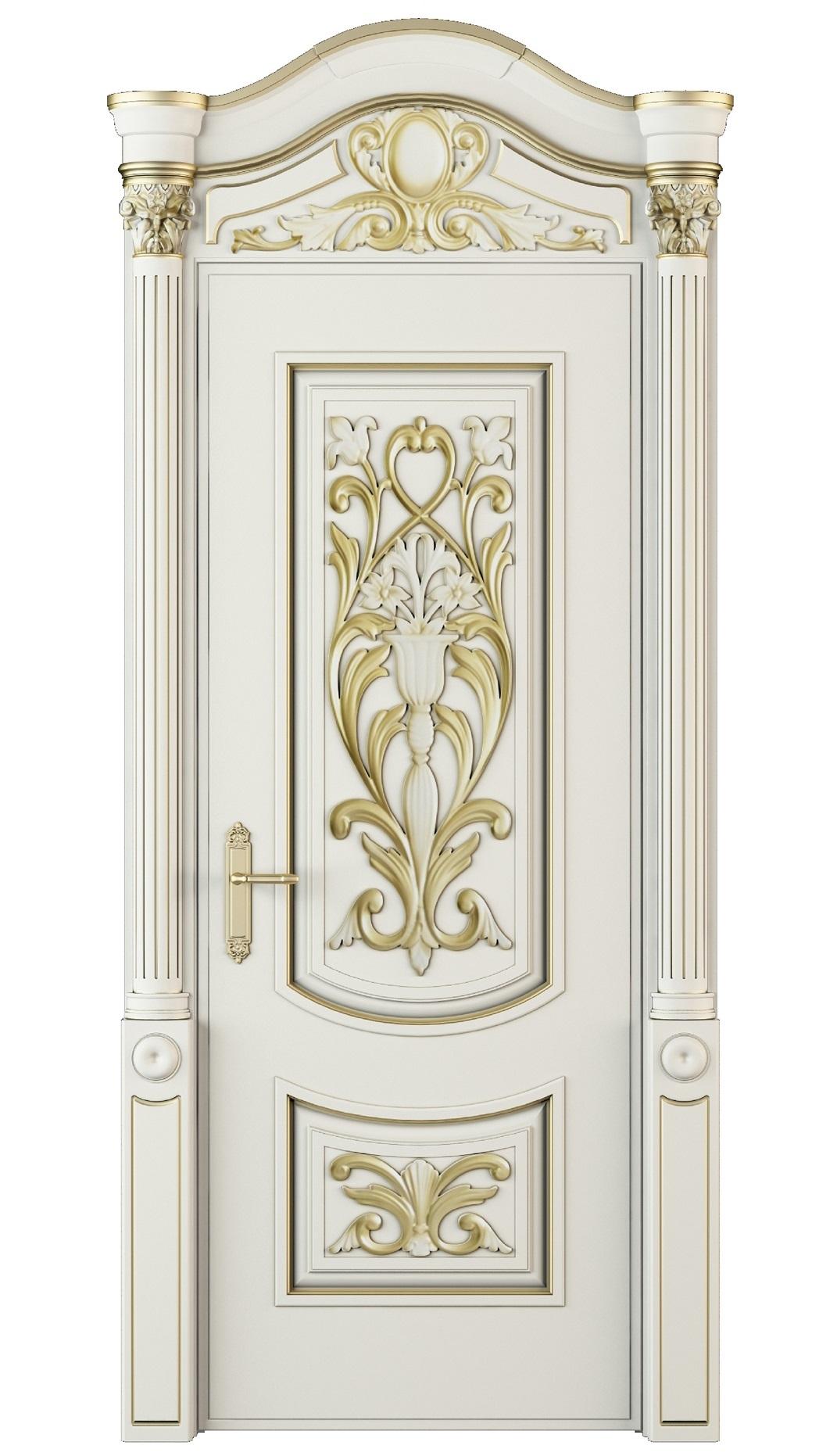 Image Vittoria Interior Door Royal White Oak 0