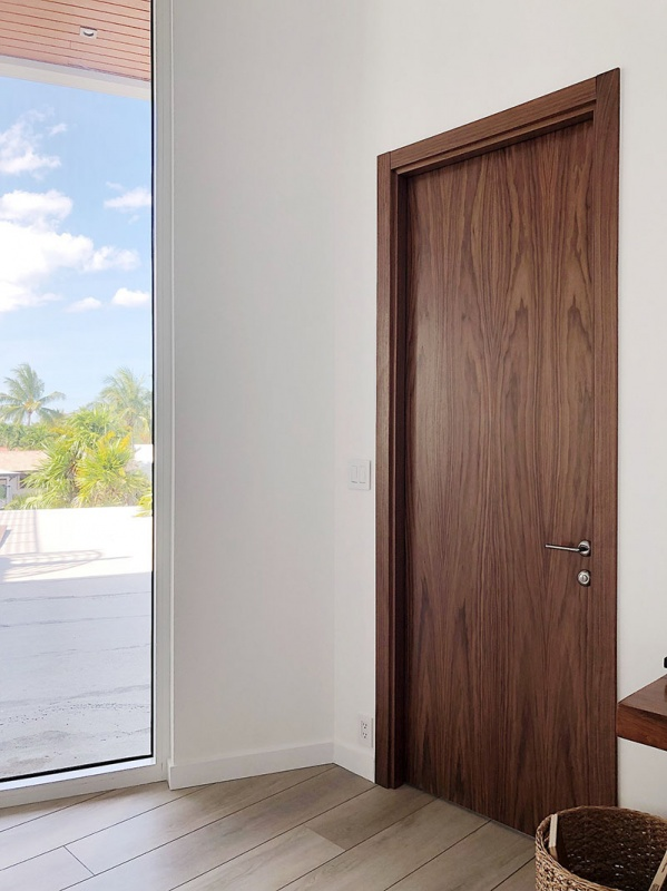 Timber or Wood Contemporary Doors
