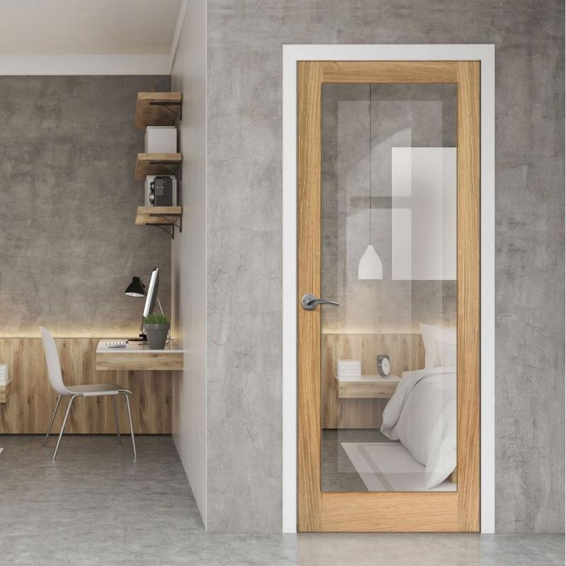 Light with Modern Doors
